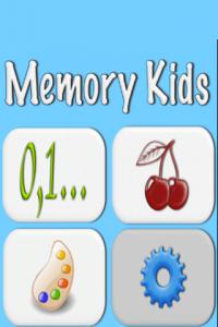 Memory Kids Screen 1